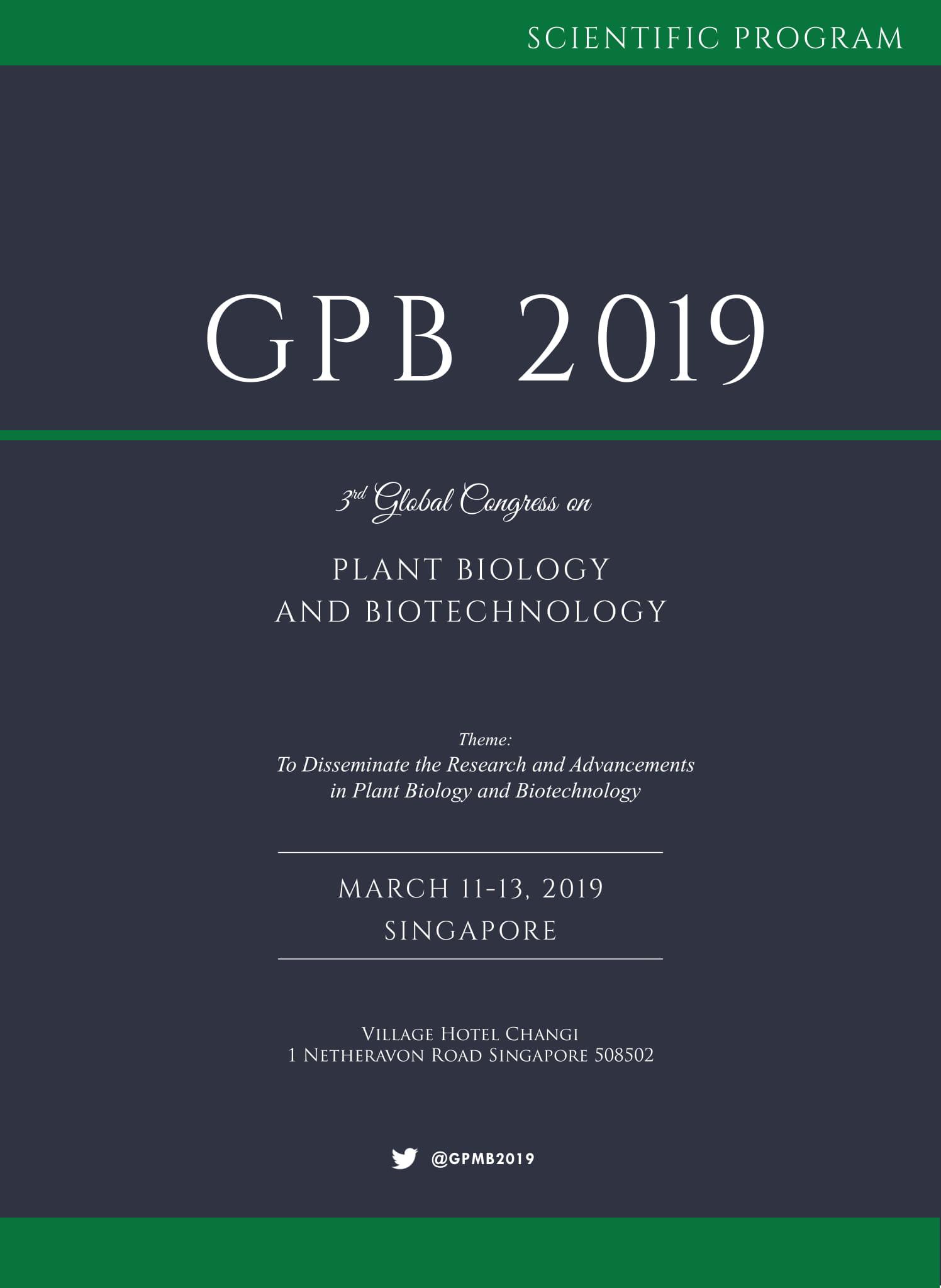 Plant Biology and Biotechnology | Singapore Program