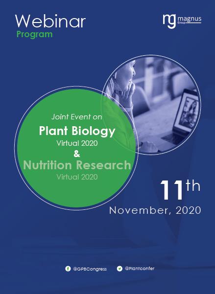 Plant Biology and Biotechnology | Online Event Program